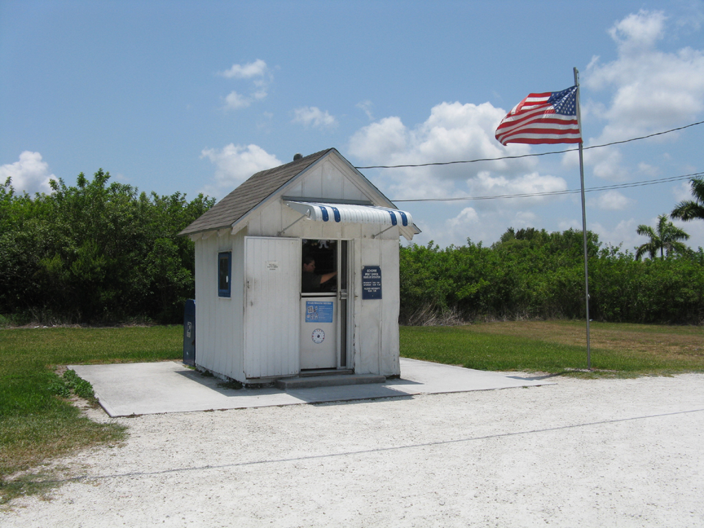 The USA's smallest Post Office...